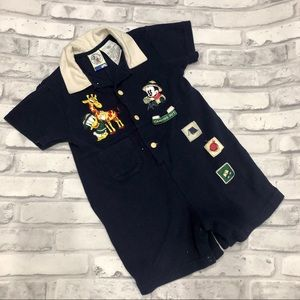 Mickey and Friends romper